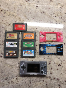 Gameboy Micro (Advance) and Games