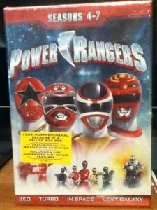 Coffrets DVD de la série ''Mighty Morphin Power Rangers''
