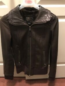 Mackage for Aritzia Leather Jacket - EXCELLENT CONDITION