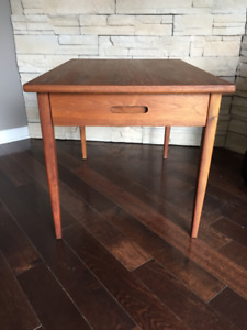 Table de Salon en Teck ** Mid Century ** Teak End Table