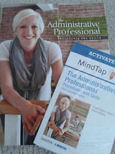 Selling the textbook The Administrative Professional