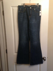 GAP jeans, high rise flare NWT