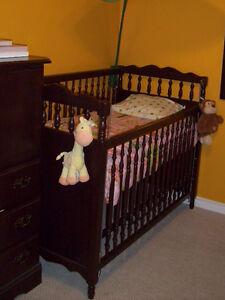 Wood Frame Crib