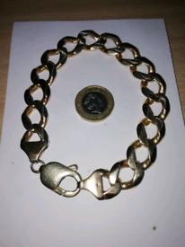 9ct gold bracelet 75 grms