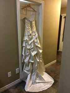 Beautiful Couture Wedding Dress Kitchener / Waterloo Kitchener Area image 5