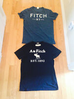 ABERCROMBIE & FITCH MENS LOT OF 2 TSHIRTS SZ XL