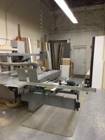 Contents of 5600 sq. ft. Architectural Millwork Shop For Sale