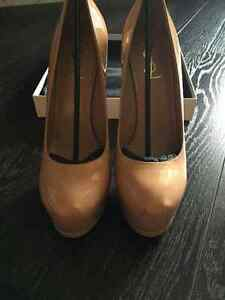Authentic Nude Saint-Laurent Tribtoo pump size 39