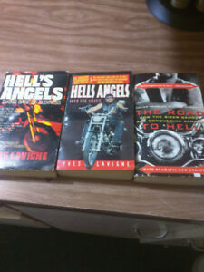 3 hells Angels books need them gone all 3 for  10.00 dallers
