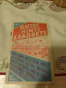 Electric Hints and Gadgets by  Arthur Lewis Golding - Vintage Kitchener / Waterloo Kitchener Area image 3