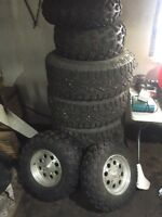 Renegade rims and tires