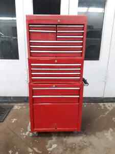 3 level Canadian Tire Mastercraft Tool Box
