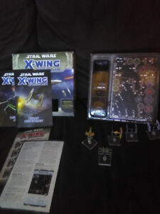 Star wars X-wing Miniature game for sale. Plus 2 extra ships.