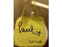🛍 Paul Smith women's canvas tote bag new