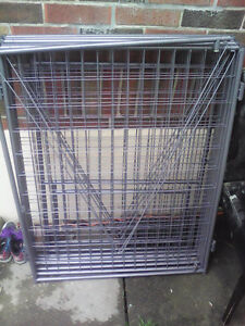 Dog pen with roof 10 by10 octogon