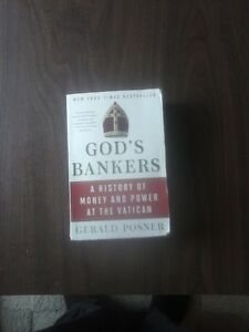 Gods Banker- History of Money and power in the Vatican Kingston Kingston Area image 1
