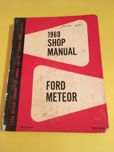 1960 Ford Meteor Shop Manual