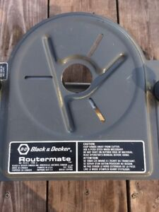 BLACK AND DECKER ROUTERMATE