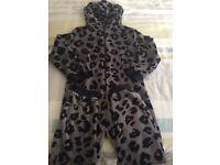 Boys Next Leopard onesie