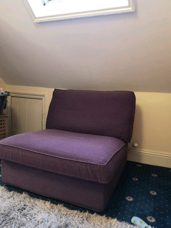 Sensational Barely Used Was275 Ikea Kivik Purple Discontinued Loveseat Sofa In Bournemouth Dorset Gumtree Bralicious Painted Fabric Chair Ideas Braliciousco