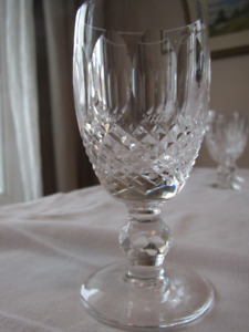 8 Waterford Crystal (Colleen design) liqueur glasses