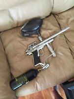 Silver bullet paintball gun