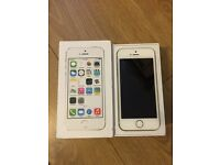 iPhone 5s 16gb in gold