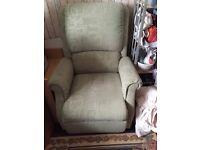 Rise and recline sofa chair