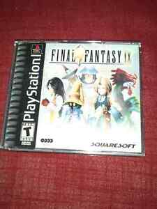 Final Fantasy IX for PS1, all 4 CDs + booklets.