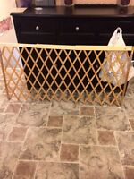 Large attachable baby gate