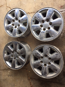 """18"""" GMC Sierra 1500 Rims with TPMS Sensors for sale. $450 OBO"""