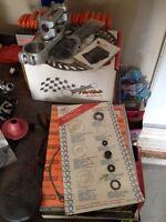2000 01 kx 250 parts, brake pads rotor gasket