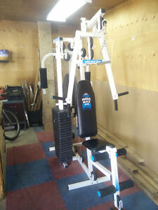 York MEGAMAX 3001 Multi-Station GYM. Good condition. $200 OBO.