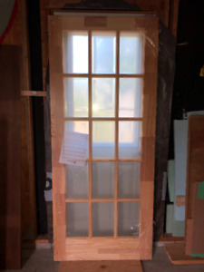 24 inch Masonite interior French doors