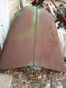1947-53 Chevy Big truck hood, sell or trade London Ontario image 1
