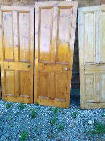 Wooden doors internal