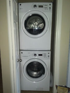 Stackable (or not) GE Washer and Dryer (still under warranty)