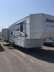 Fifth Wheel Cedar Creek 34wbh, 2 chambres
