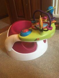 Mamas and Papas Snug Seat with Activity Tray