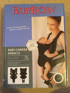 Baby Bjorn The Baby Carrier Miracle Airy mesh