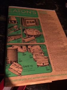Mint 1976 Eatons catalog still in paper wrapping
