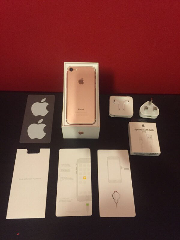 iPhone 7 32GB Rose Gold (Vodafone) 11 Months APPLE