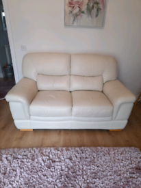 Oak Furniture land 2 seater leather couch