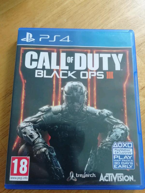 PS4 CALL OF DUTY BLACK OPS III   in Livingston, West Lothian   Gumtree