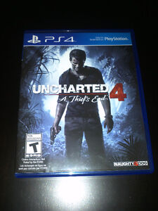 PS4 PlayStation-Uncharted - A Thief's End