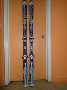 Skis Head C260i Carbon Jacket Superframe (163 cm) excellent état