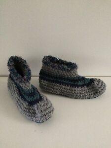 Pantoufles slippers tricot phentex