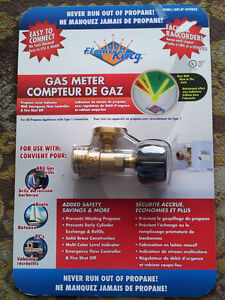 Flame King Propane Gas Gauge Meter