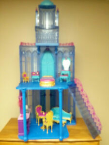 Barbie Diamond Castle with 3 sets of furniture