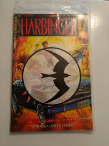 Harbinger #1 TPB sealed by Manufacturer with comic #0
